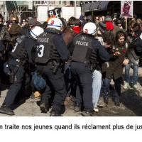 La grève étudiante et l'injustice sociale.